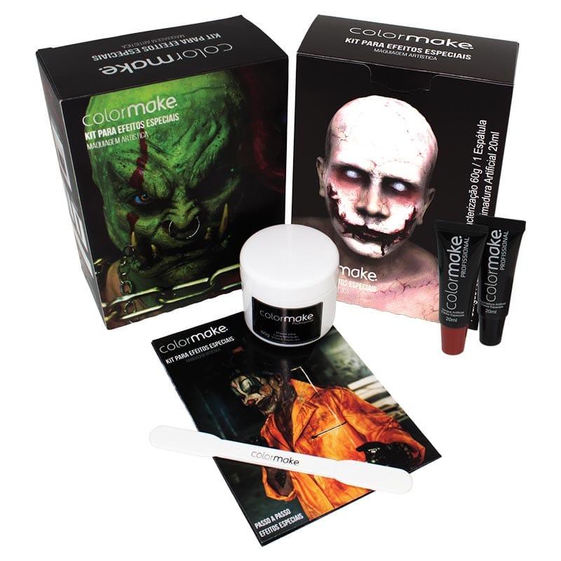 Kit de Efeitos Especiais para Maquiagem Artística da Colormake