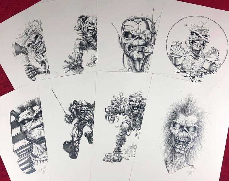 Derek Riggs   Prints disponíveis na Horror Expo 2019