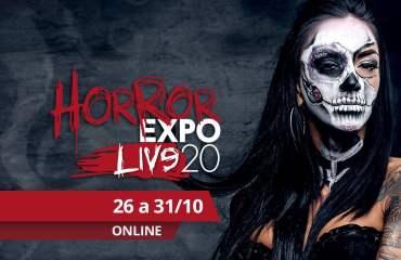 Horror Expo Live 2020 será uma experiência virtual