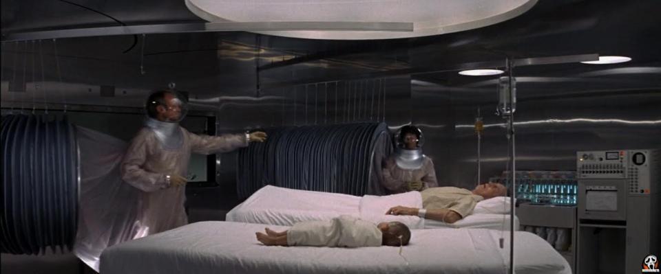 Andromeda Strain film from 1971
