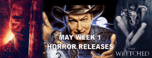 May 1st 2020 horror movies