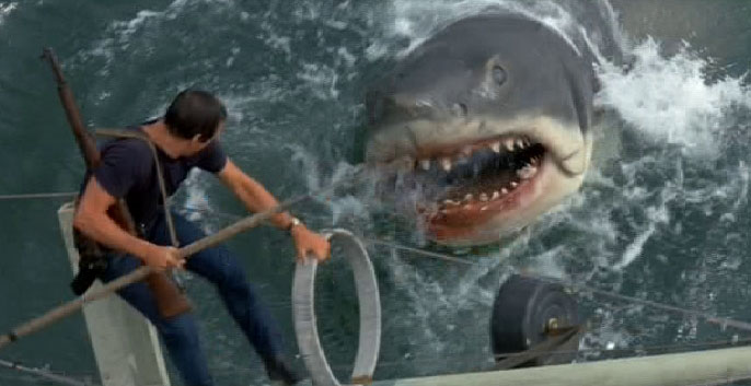 Image result for jaws film orca