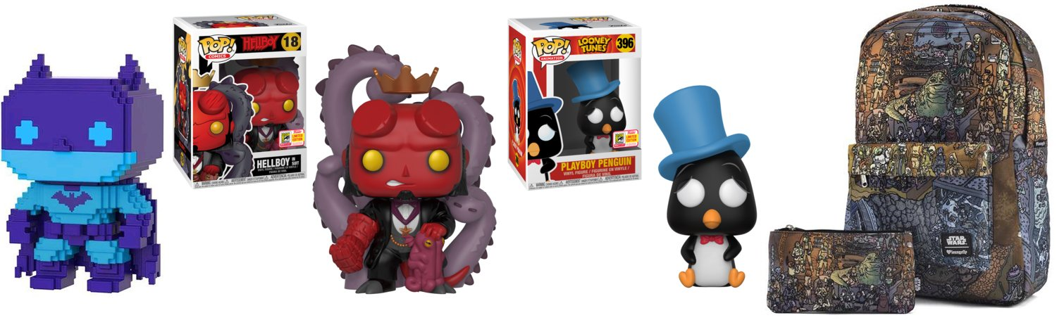 SDCC 2018  Where to Find Funko s Shared Exclusives    Horror Geek Life GameStop EB Games