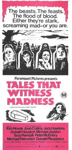 Tales That Witness Madness Poster 6