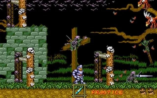 Ghosts N Goblins Mega Drive