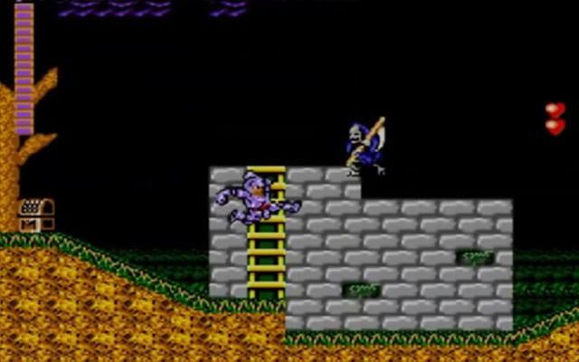 Ghosts N Goblins Sega Master System