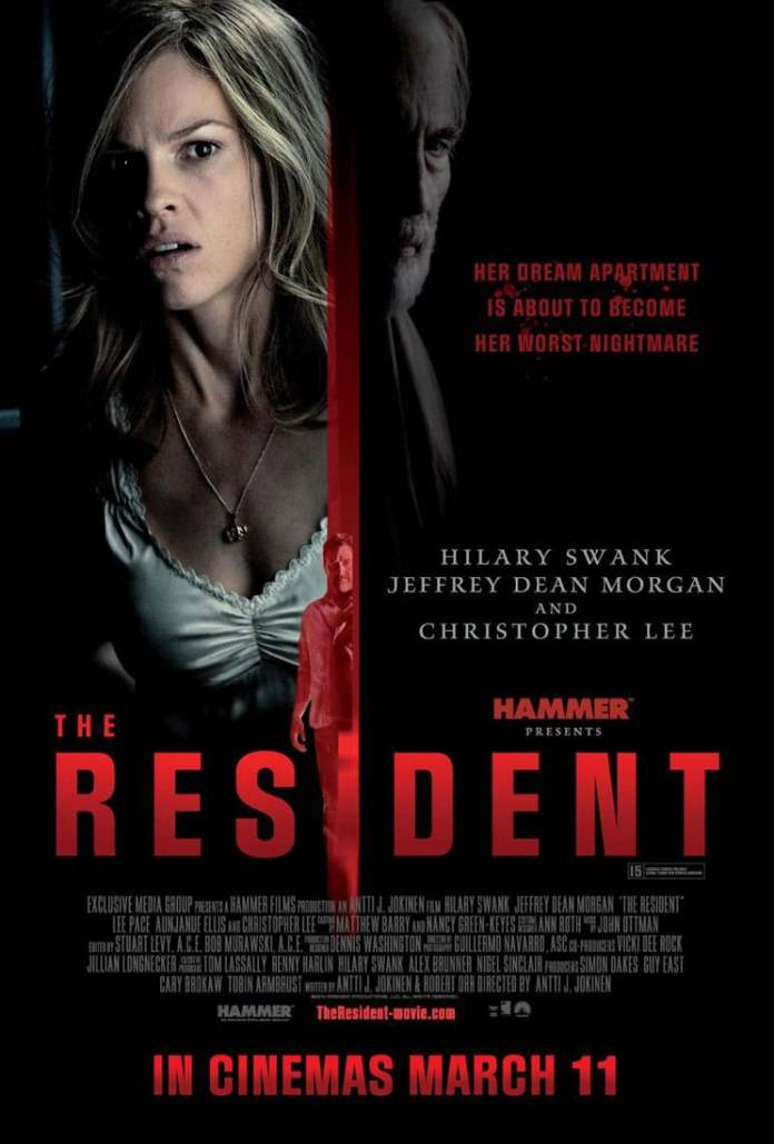the resident 2011 poster 3