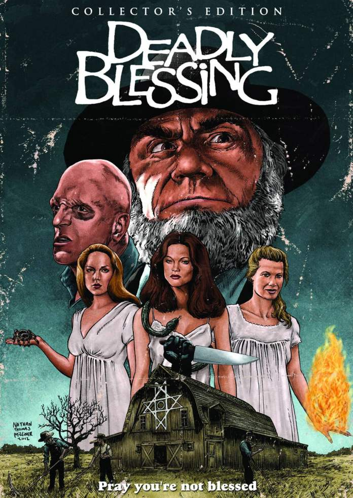 Deadly Blessing Poster 1
