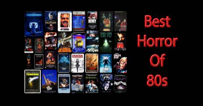 ταινίες τρόμου της δεκαετίας του 80