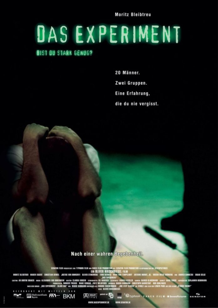 psychological thriller das experiment