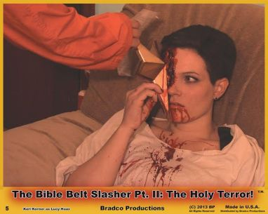 Images from BIBLE BELT SLASHER: THE HOLY TERROR