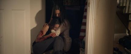 (L-R) Troian Bellisario as Lucie and Bailey Noble as Anna in the action horror film MARTYRS an Anchor Bay Entertainment release. Photo courtesy of Anchor Bay Entertainment.