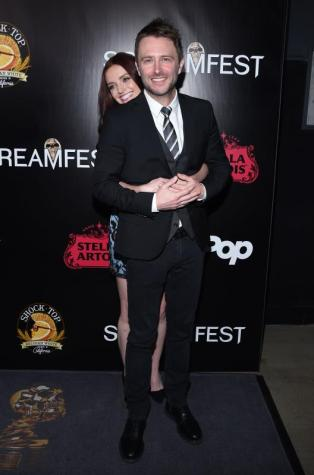 Lydia Hearst and Chris Hardwick
