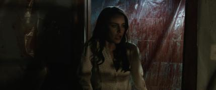 """Jessica Lowndes as Julia Talben in the horror film """"ABATTOIR"""" a Momentum Pictures release. Photo courtesy of Momentum Pictures."""