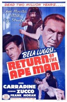 Horror History: Monday, July 17, 1944: Return of the Ape Man was released in theaters