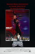 Horror History: Friday, July 25, 1986: Maximum Overdrive was released in theaters
