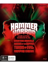 Hammer Horror (Four Gothic Horror Films) (Import) Available August 6