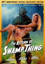 The Return Of Swamp Thing (1989) Available September 7