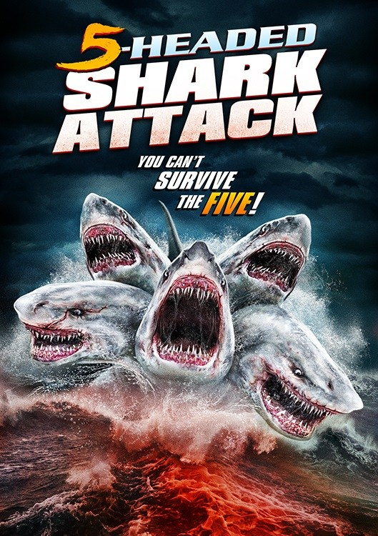 5-HEADED SHARK ATTACK Movie Poster Debut!
