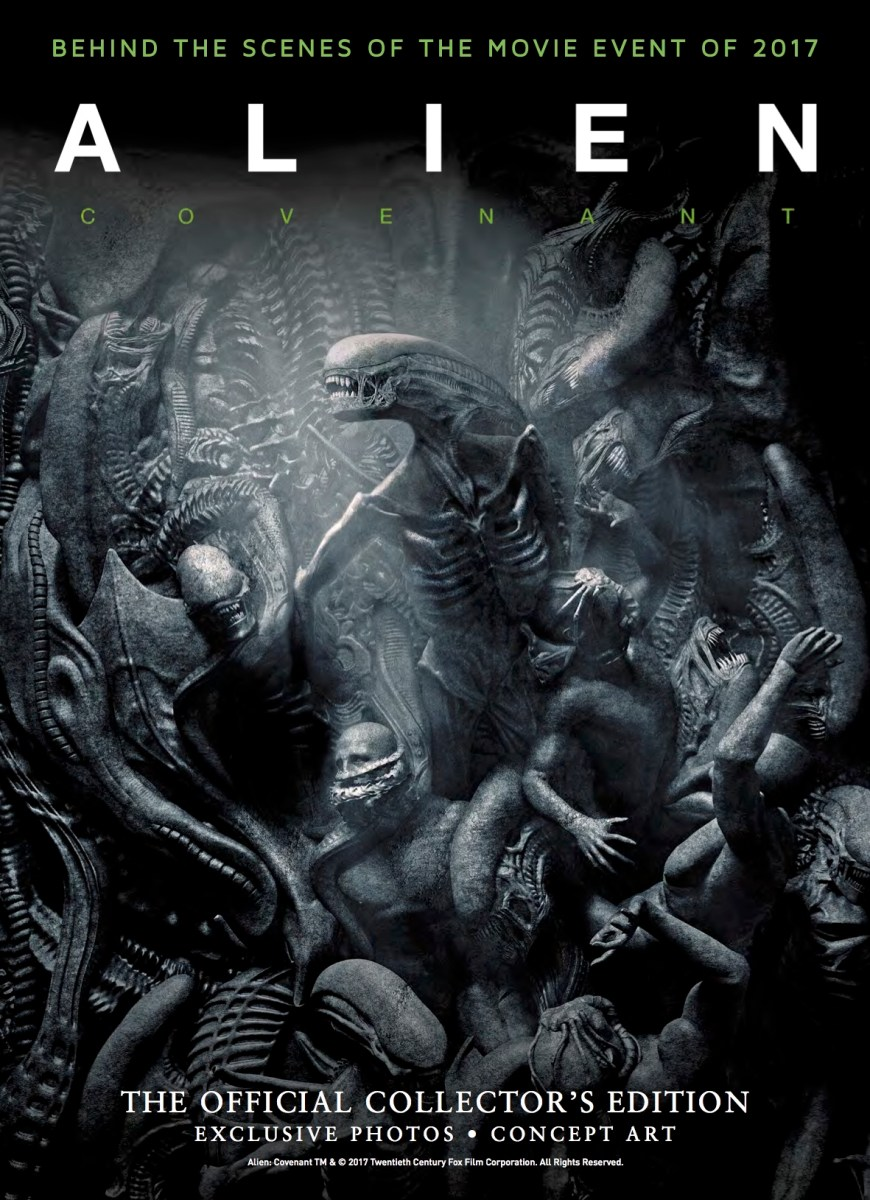 ALIEN: COVENANT - OFFICIAL COLLECTOR'S EDITION Releases on June 6th From Titan Books!