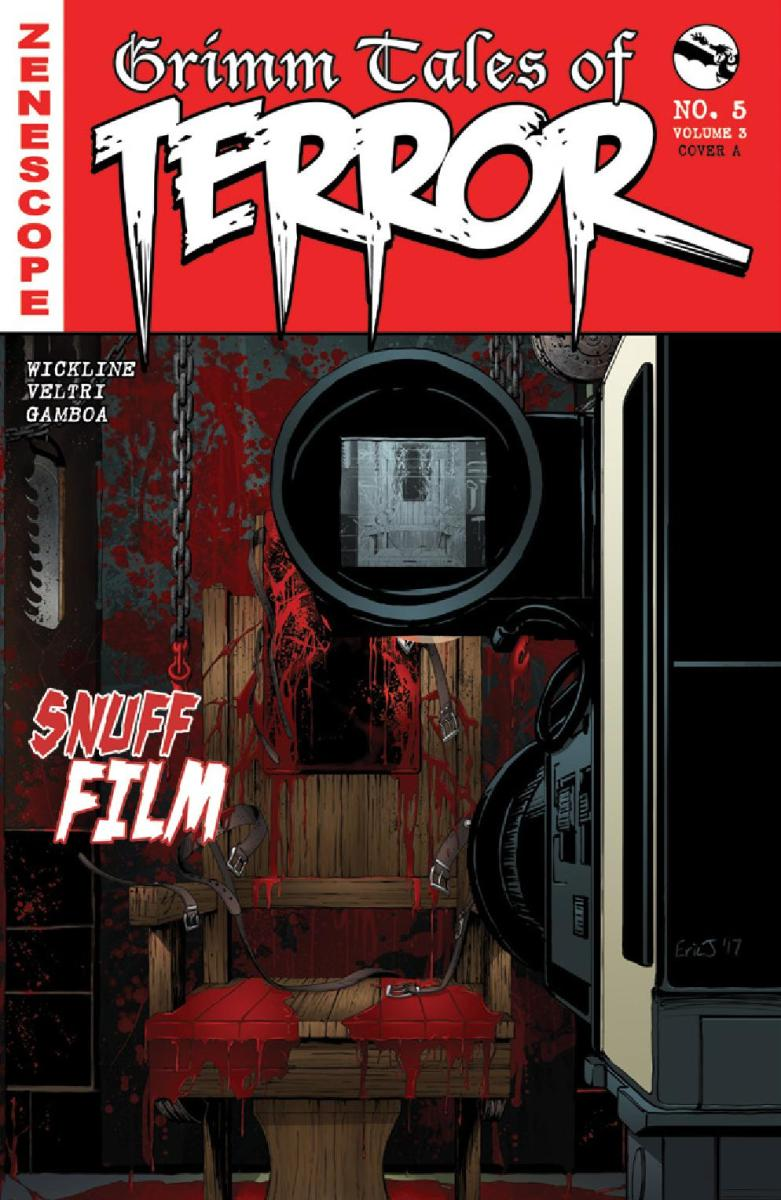 Comic Crypt: Grimm Tales Of Terror Vol.3 #5: Snuff Film Preview