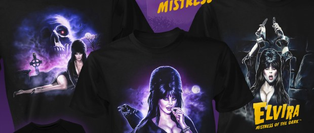 JAWS & ELVIRA Collections On Sale Now From Fright-Rags!