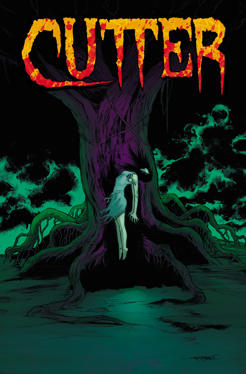 Comic Crypt: Top Cow's Horror Series CUTTER Trade Paper Back!