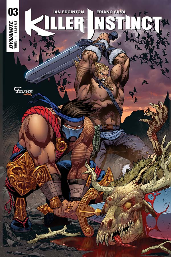 Comic Crypt: Killer Instinct #3 Preview