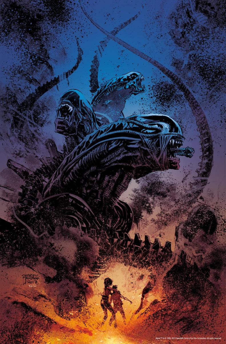 Comic Crypt: ALIENS: DUST TO DUST Hits Comic Shelves This Spring!