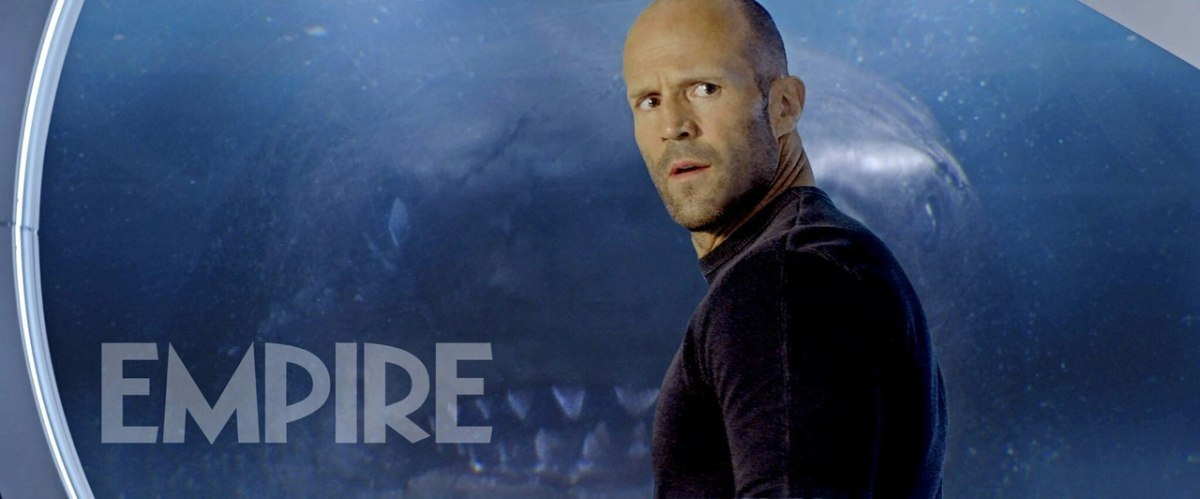 New Still Released For Jason Statham Shark Horror Film THE MEG!