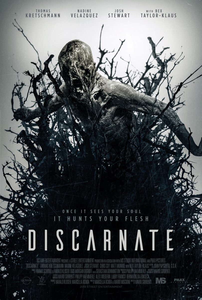 Official Poster For Supernatural Thriller DISCARNATE!
