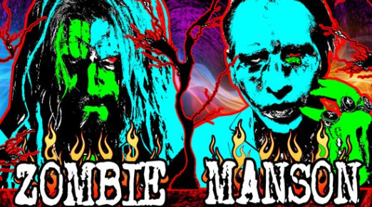 Rob Zombie & Marilyn Manson TWINS OF EVIL - The Second Coming Tour 2018!