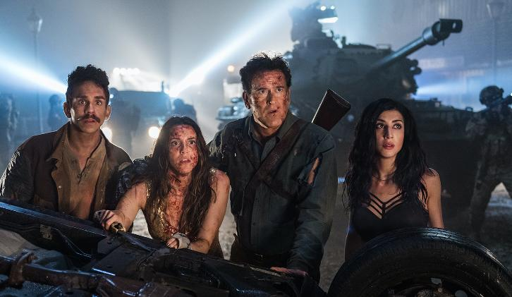 ASH VS EVIL DEAD Cancelled By Starz!