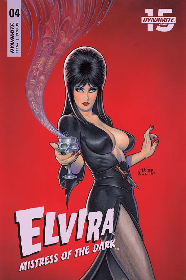 Comic Crypt: Elvira: Mistress of the Dark #4 Preview!
