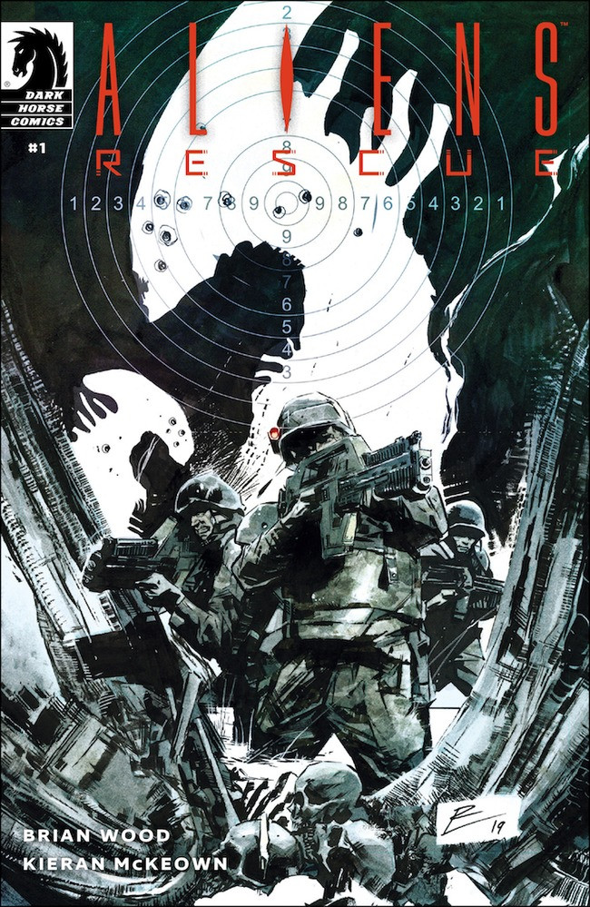 Comic Crypt: ALIENS: RESCUE Coming from Dark Horse!