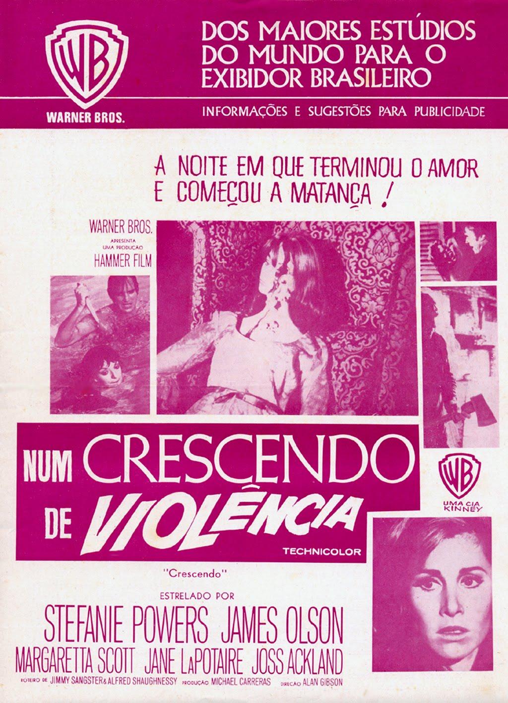 Poster do filme Num Crescendo de Violência