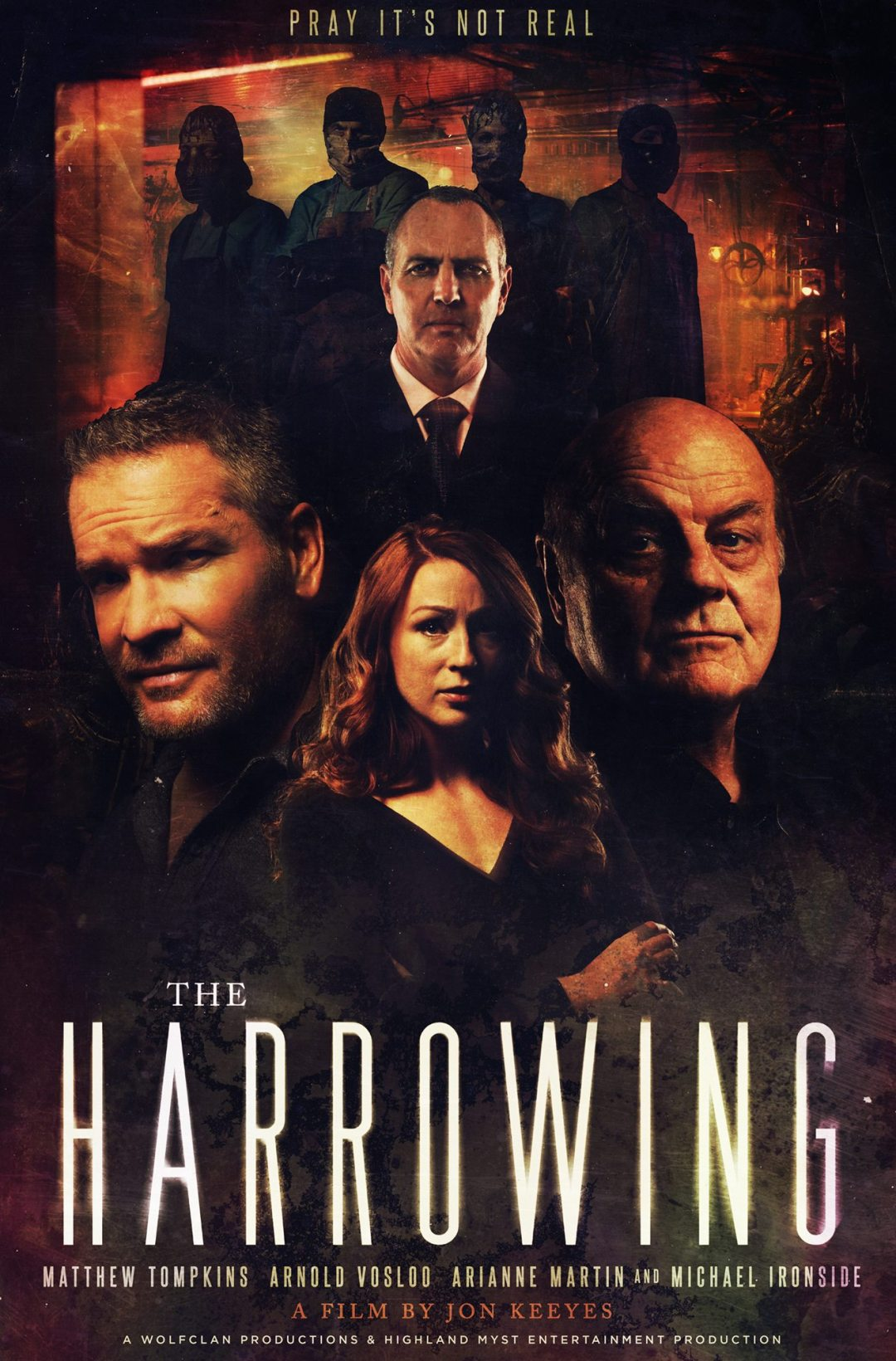 'The Harrowing' with Michael Ironside and Arnold Vosloo