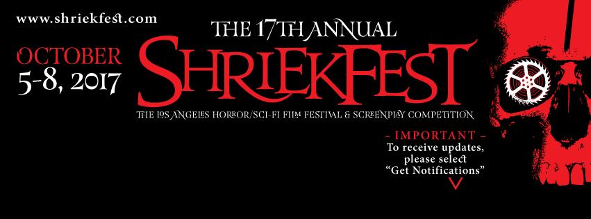 'Shriekfest 2017' Is Open To Films!