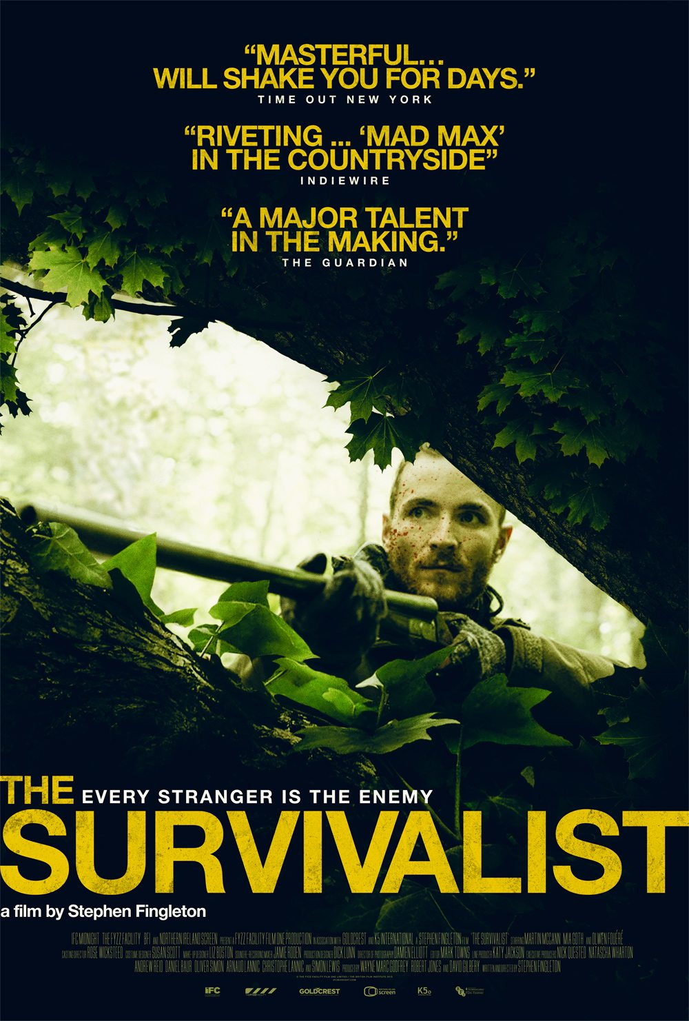 IFC Films' 'The Survivalist' Opens May 19th