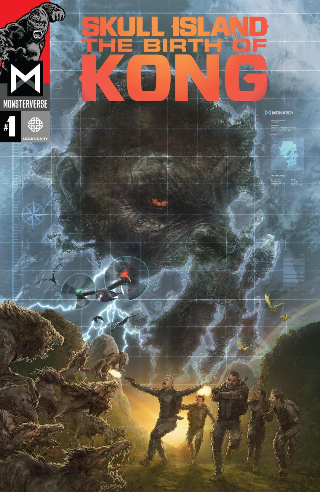 'Skull Island: The Birth of Kong' Comic Series Gets a Trailer