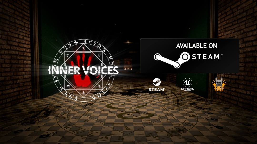 'Inner Voices:' A New Adventure Game Inspired by Lovecraft is Now Available on Steam!