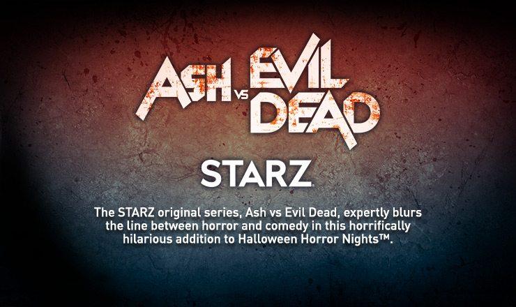 'Ash vs Evil Dead' is Getting a Halloween Horror Nights Maze!