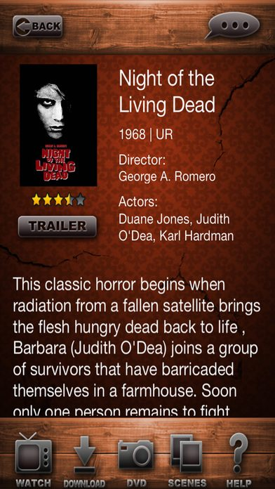 Best Horror Movies Smartphone Apps – Review