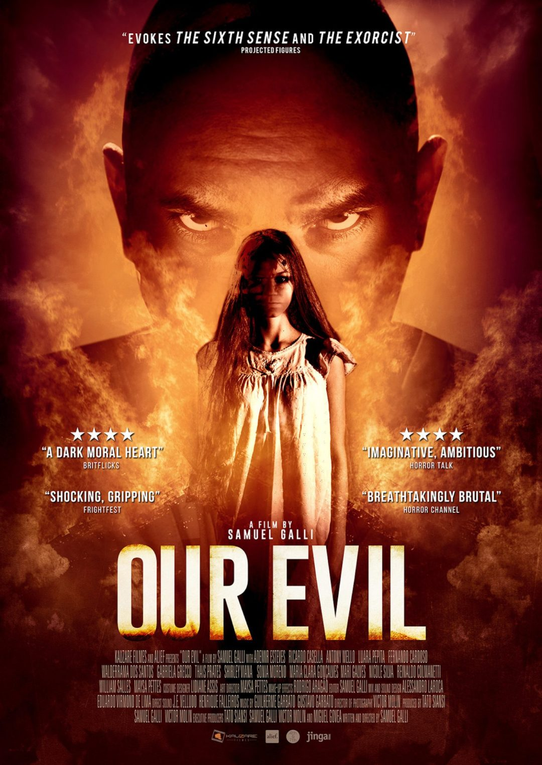 The First Still and Poster Are Out for 'Our Evil'