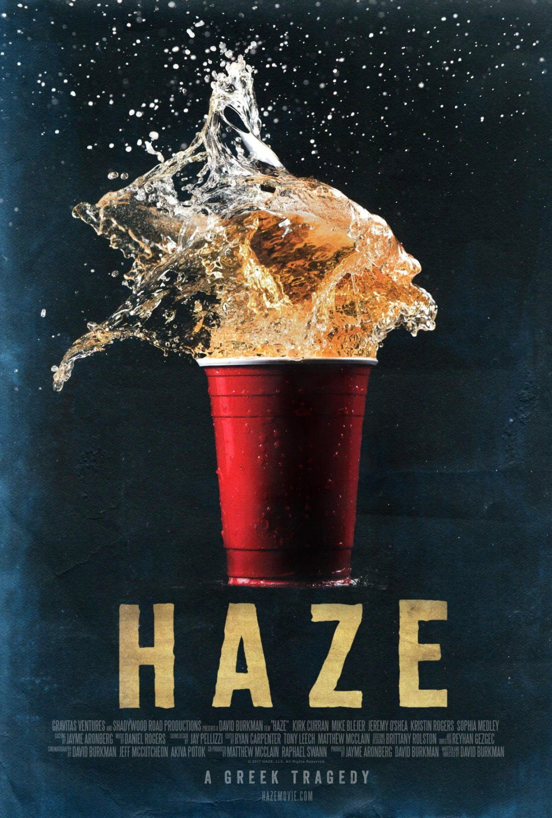 A New Poster and Trailer Are Out for 'Haze'