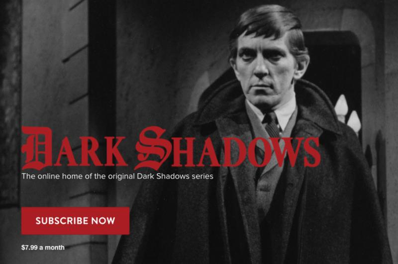 MPI Announces 'Dark Shadows' Unlimited Streaming