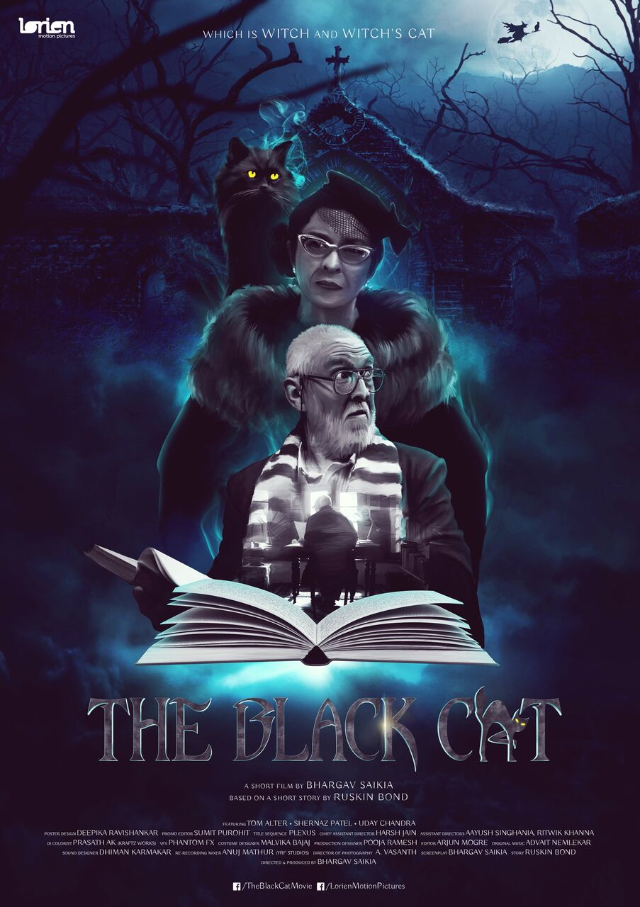 Outstanding Fantasy Short Film 'The Black Cat' is Now Available on Youtube!