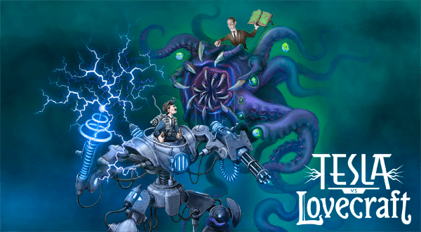 Science and Tentacles Clash in 'Tesla vs Lovecraft,' Available on Steam January 26th