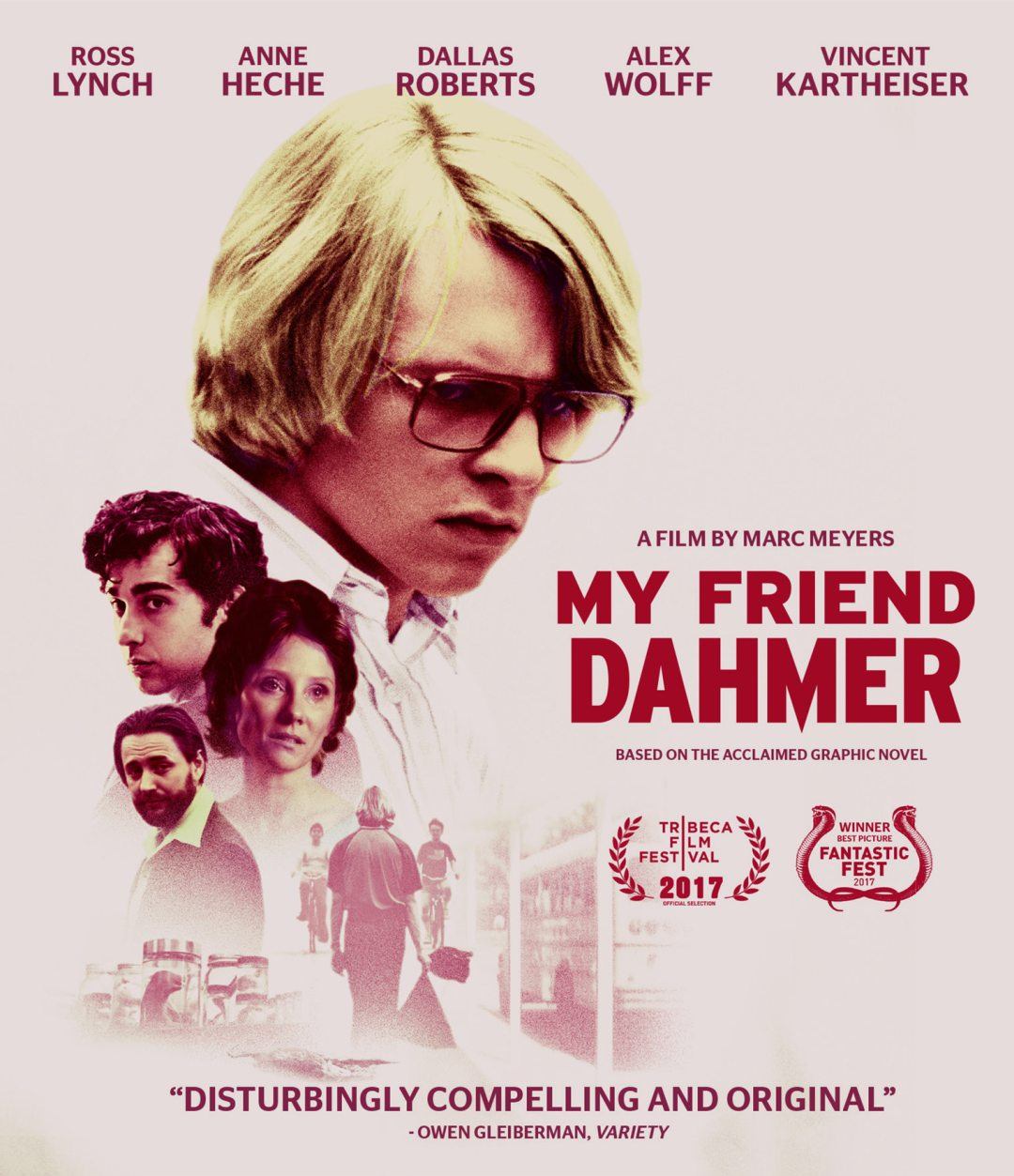 'My Friend Dahmer' Coming to DVD and Blu-ray on April 10th