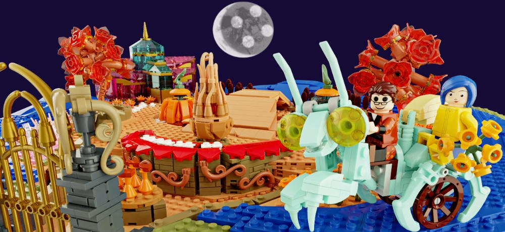 Vote to Help the 'Coraline' LEGO Garden Become an Official Set